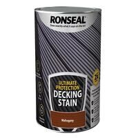 Ultimate Protection Decking Stain Rich Mahogany 5 litre