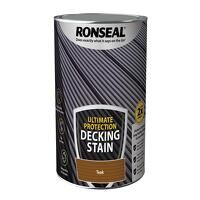 Ultimate Protection Decking Stain Rich Teak 5 litr...
