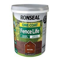 One Coat Fence Life Red Cedar 5 litre