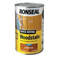 Quick Drying Woodstain Satin Natural Oak 750m...