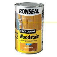 Quick Drying Woodstain Satin Natural Pine 750ml