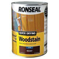 Quick Drying Woodstain Satin Mahogany 2.5 litre