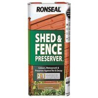 Shed & Fence Preserver Autumn Brown 5 litre