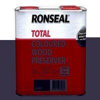 Trade Total Wood Preserver Black 2.5 litre