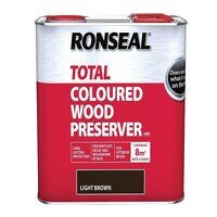 Trade Total Wood Preserver Light Brown 2.5 litre