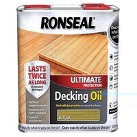 Ultimate Protection Decking Oil Natural 5 litre