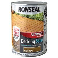 Ultimate Protection Decking Stain Medium Oak 2.5 l...