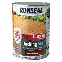 Ultimate Protection Decking Stain Rich Mahogany 2....