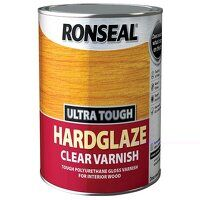 Ultra Tough Hardglaze Internal Clear Gloss Varnish 250ml