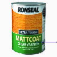 Ultra Tough Mattcoat Internal Clear Varnish 2.5 li...