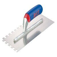 Notched Trowel Square 6mm² Soft Touch Handle 11 x 4.1/2in