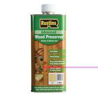 Advanced Wood Preserver Clear 1 litre