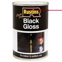 Quick Dry Black Gloss 250ml