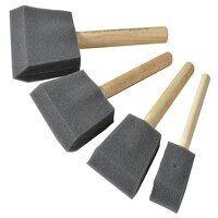 Foam Brush Set, 4 Piece