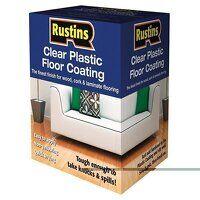 Clear Plastic Floor Coating Kit Gloss 1 litre