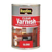 Polyurethane Varnish Gloss Clear 250ml