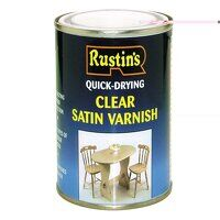 Quick Dry Varnish Satin Clear 1 litre