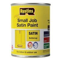Quick Dry Small Job Satin Paint Buttercup 250ml