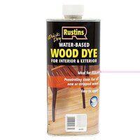 Quick Dry White Wood Dye 250ml