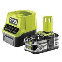 RC18120-115 ONE+ Compact Charger 18V + 1 x 18V 1.5...