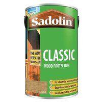 Classic Wood Protection Light Oak 5 litre