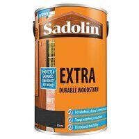 Extra Durable Woodstain Ebony 5 litre