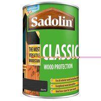 Classic Wood Protection Ebony 1 litre