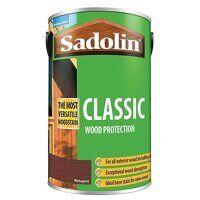 Classic Wood Protection Mahogany 5 litre