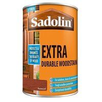 Extra Durable Woodstain Redwood 1 litre