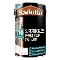 Superdec Opaque Wood Protection Super White Gloss ...
