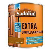 Extra Durable Woodstain Heritage Oak 500ml