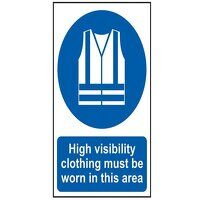 High Visibility Jackets Must Be Worn In This Area ...