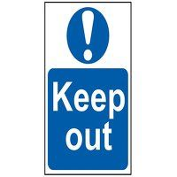 Keep Out - PVC 200 x 300mm