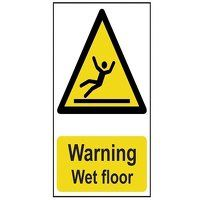 Warning Wet Floor - PVC 200 x 300mm