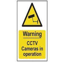 Warning CCTV Cameras in Operation - PVC 200 x 300m...