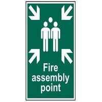 Fire Assembly Point - PVC 200 x 300mm