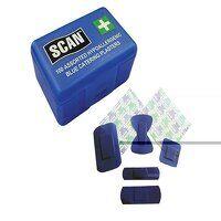 Assorted Hypoallergenic Blue Plasters 120