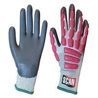Anti-Impact Latex Cut 5 Gloves - M (Size 8)