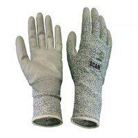 Grey PU Coated Cut 5 Gloves - XL (Size 10)