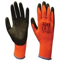 Thermal Latex Coated Gloves - M (Size 8)