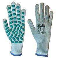Vibration Resistant Latex Foam Gloves - L (Size 9)