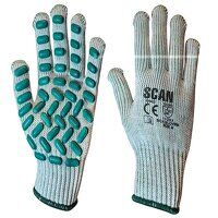 Vibration Resistant Latex Foam Gloves - M (Size 8)