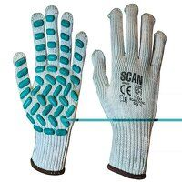 Vibration Resistant Latex Foam Gloves - XL (Size 10)