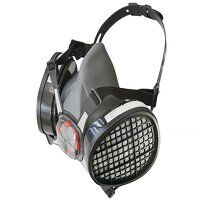 Twin Half Mask Respirator + A1 Refills