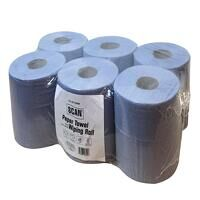 Paper Towel Wiping Roll 2-Ply 176mm x 150m (Pack 6...
