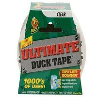 Duck Tape® Ultimate 50mm x 20m Clear