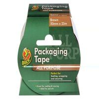 Duck Tape® Packaging Tape 50mm x 25m Brown