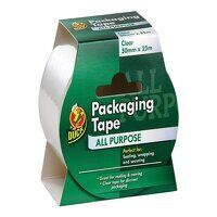Duck Tape® Packaging Tape 50mm x 25m Clear