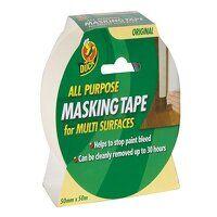 Duck Tape® All-Purpose Masking Tape 50mm x 50m