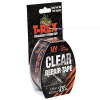 T-REX® Repair Tape 48mm x 8.2m Clear